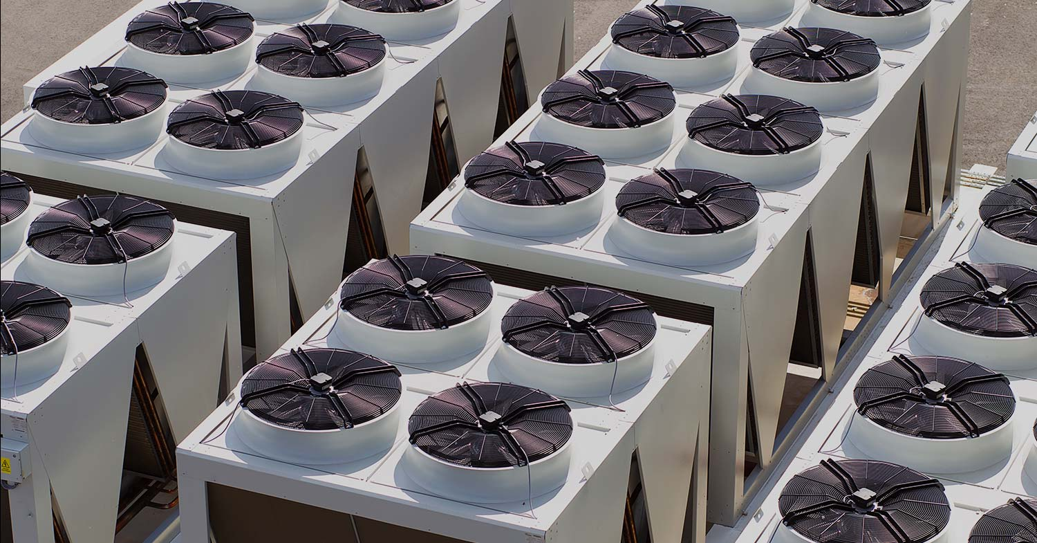 Industrial Refrigeration fan units (many)