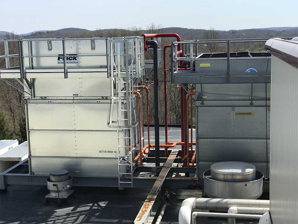 Large Refrigeration unit on roof