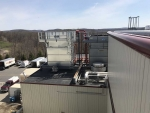 Refrigeration unit on roof