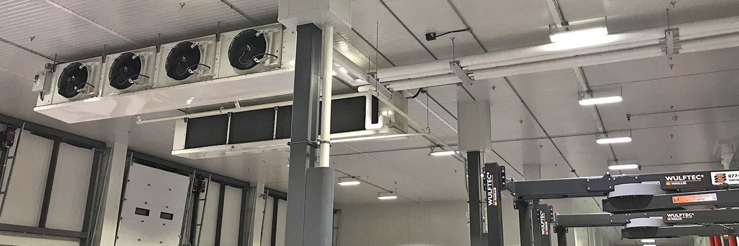 Refrigeration Unit in the Ceiling